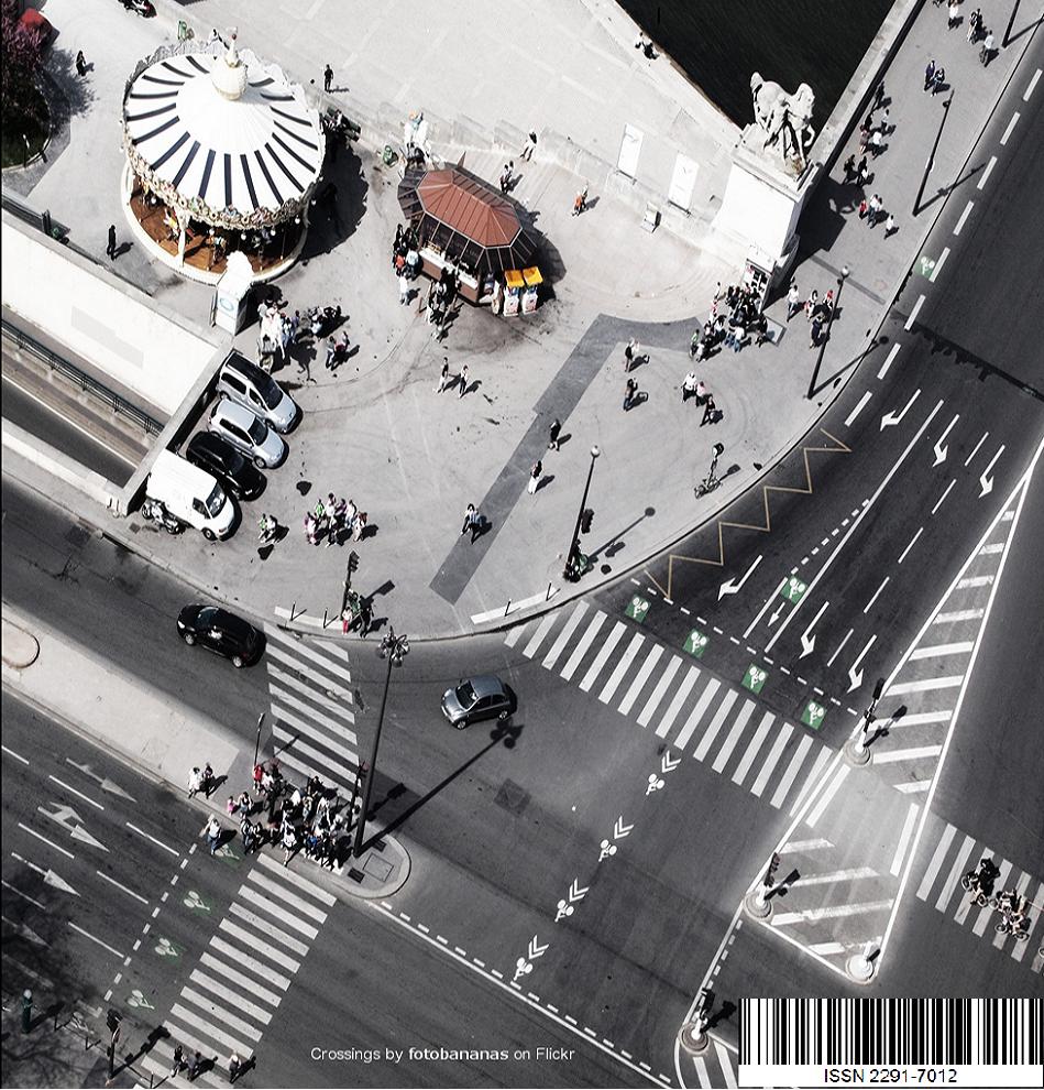 Image de la page d'accueil de la revue